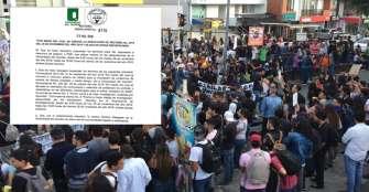 Semestre académico no se cancelará en la Uniquindío. Estudiantes continúan en protesta