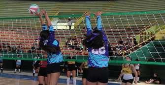 Quindío A finalizó quinto en nacional infantil de voleibol