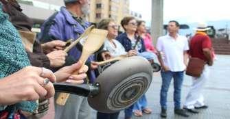 Con poca participación, Quindío se sumó a cacerolazo nacional