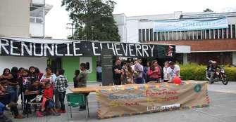 """""""Echeverry Murillo estigmatiza a los estudiantes con sus declaraciones"""": integrante del movimiento Uniquindiano"""