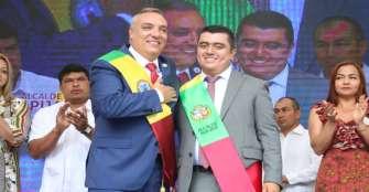 Alcalde de Pijao se posesionó junto al gobernador del Quindío