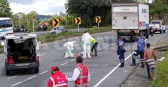 Muerte de ciclista: investigan responsabilidad de conductor de camión