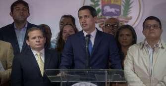 Gobierno celebró la reelección de Guaidó como jefe del Parlamento venezolano