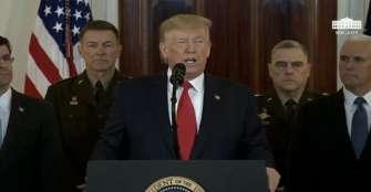 Trump optó por la contención militar y la presión económica contra Irán
