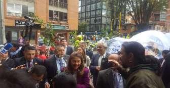 El fracking enfrenta a manifestantes con vicepresidenta Marta Lucía Ramírez