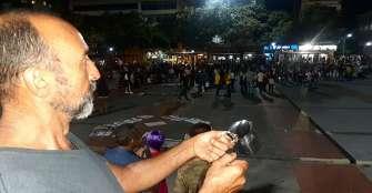 """Poca participación en marcha y cacerolazo, pero """"la lucha se mantiene"""""""