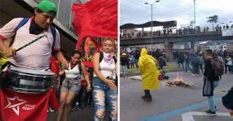 Cacerolazo reivindicativo, pequeñas concentraciones y violencia; así fue el 21E