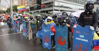 Alcaldesa de Bogotá dice que disidencias de Farc infiltraron manifestaciones