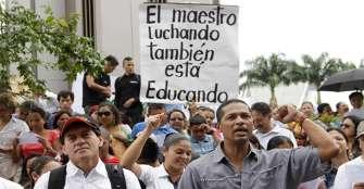 Por amenazas, docentes del Quindío, a paro de 48 horas