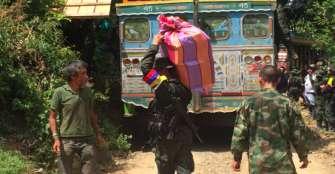 Más de 800 campesinos desplazados por presiones de grupos armados en Ituango