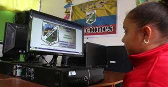 Cero papel, apuesta de la I. E. San Rafael en elecciones estudiantiles