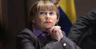 Ministra: Mueren más colombianos por robo de móviles que por defender DD.HH.