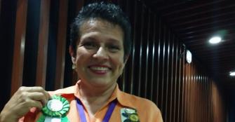 Quindiana, elegida presidenta nacional de clubes de jardinería