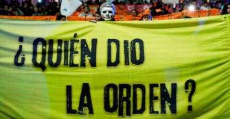 Víctimas piden en la calle justicia a Estado colombiano por los desaparecidos