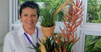 Trabajará para que los 20 clubes de jardinería florezcan
