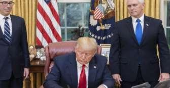 """Trump quiere """"reabrir"""" la economía de EE.UU. el 12 de abril pese a COVID-19"""