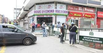 Restricción vehicular en el centro de Armenia deja balance positivo