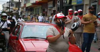 Con cacerolazo, en Quimbaya manifestaron contra alza en servicios públicos