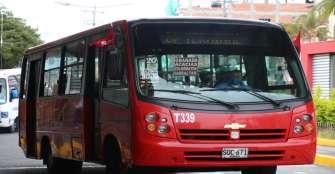 Sin ayudas, servicio de bus urbano cerca de la quiebra