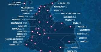 En solo una semana, en Colombia se registraron 9.791 casos nuevos de COVID-19