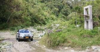 9 años han pasado y en la vereda Las Pizarras de Pijao aún no hay puente
