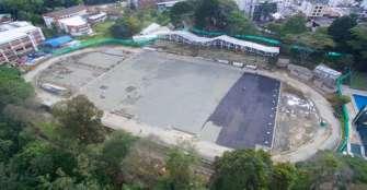 Obras en zona deportiva de la Uniquindío terminarían en septiembre