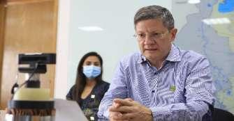 Gobernador encargado de Antioquia y comandante de la Policia de Bogotá  Positivos por COVID-19