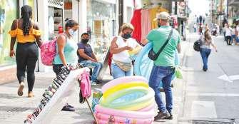 Comercio ambulante, más que un grupo de personas en el espacio público