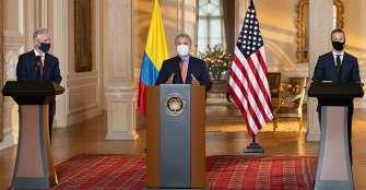 Duque confirma apoyo de Colombia a candidato de EE.UU. para presidir el BID