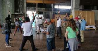 Albergue en Cenexpo seguirá de acuerdo con comportamiento de la pandemia