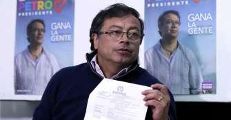 Unión Patriótica proclama a Petro como su precandidato presidencial para 2022
