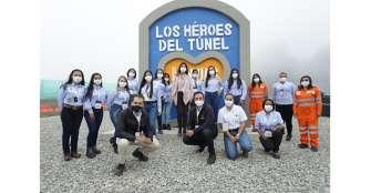 Tributo a los trabajadores del túnel de La Línea