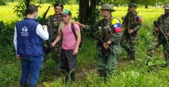 Disidencias de las Farc dejan en libertad a secuestrado en el Catatumbo