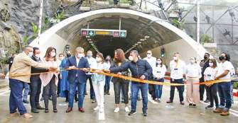 Túnel de La Línea, desde este viernes inició el tránsito vehicular