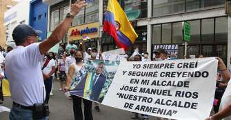 Ríos Morales instaurará tutela para volver antes a la alcaldía