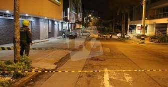 Homicidio la noche del martes en el norte de Armenia: 6 impactos