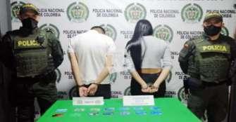 2 arrestados por el delito de hurto en la modalidad de cambiazo
