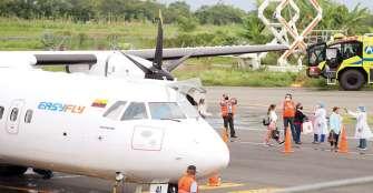 Con 2 vuelos de salida y 2 de ingreso, empezó la operación de El Edén