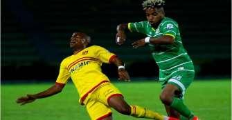 Goles de Carabalí salvaron a Deportes Quindío de la derrota en la B
