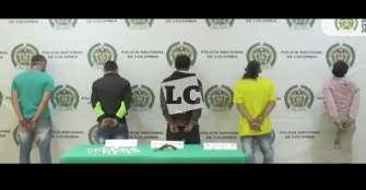 5 capturados dejó intervención policial en los barrios La Fachada y Santander