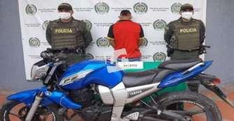Adolescente en La Tebaida hurtó una motocicleta