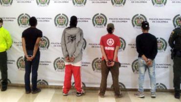 Cárcel a 6 personas señaladas de distribuir estupefacientes en Montenegro