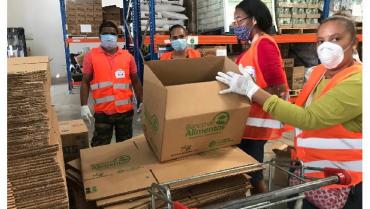 Bancos de Alimentos buscan más comida para afectados por pandemia
