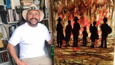 Un artista rebelde y crítico que busca salirse de los moldes