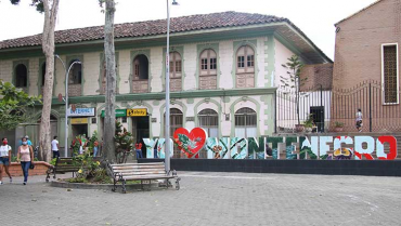 Embellecimiento y seguridad, los  regalos del alcalde para Montenegro