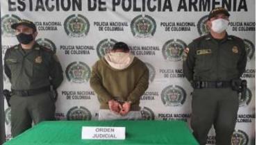 En Calarcá cayó hombre buscado por un homicidio