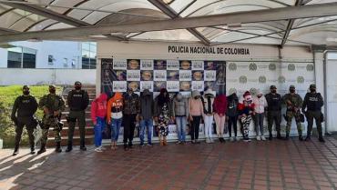En Quindío recibían dinero de extorsión de cárcel La 40