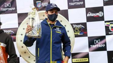 Santiago Isaza ganó en nacional de enduro y se perfila para repetir título
