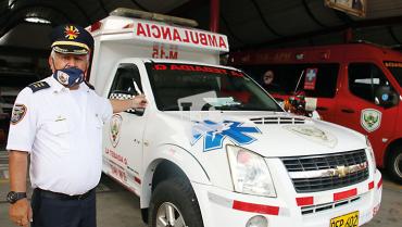 """""""Nos encontramos bien preparados"""",  comandante de bomberos de La Tebaida"""