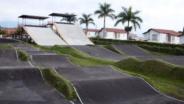 El anhelo en Quimbaya es que pista de BMX reciba los juegos nacionales